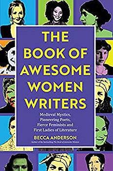 The Book of Awesome Women Writers book cover